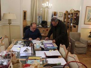 Σύμβαση για αντιπλημμυρικά έργα στον Δήμο Βέλου - Βόχας