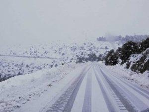 Χιονόπτωση στην Περιφέρεια Πελοποννήσου