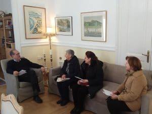 Συνάντηση του Π. Νίκα με το Περιφερειακό Τμήμα Τρίπολης του Ελληνικού Ερυθρού Σταυρού