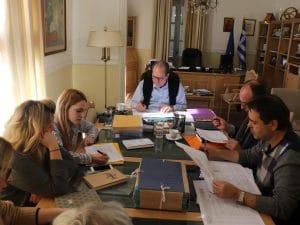 Σύσκεψη για το ΠΔΕ στην Π.Ε. Κορινθίας