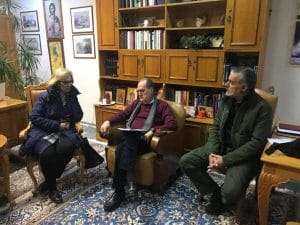 Συνάντηση με τον Σύλλογο Μικρασιατών Καλαμάτας