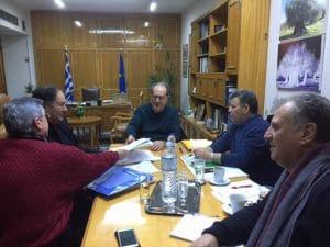 Υπογραφή συμβάσεων που αφορούσαν κυρίως ασφαλτοστρώσεις σε δρόμους της Π.Ε. Μεσσηνίας