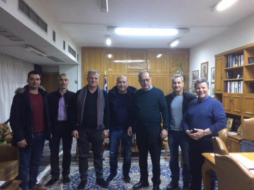Συνάντηση του περιφερειάρχη με την Ενωση Υπαλλήλων Πυροσβεστικού Σώματος Νομού Μεσσηνίας