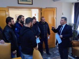 Συνάντηση αντιπεριφερειάρχη Μεσσηνίας με αντιπροσωπεία αγροτών