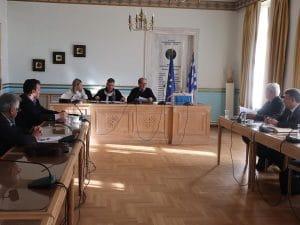 Συνεδρίαση του διοικητικού συμβουλίου της Πελοπόννησος Α.Ε