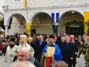 Εορτασμός των Θεοφανίων στο Ναύπλιο