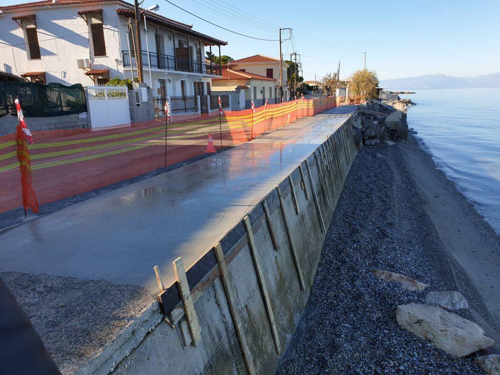 Αυτοψία σε αντιδιαβρωτικά έργα στον Δήμο Ξυλοκάστρου - Ευρωστίνης