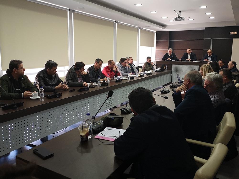 Σύσκεψη για τα έργα ΕΣΠΑ στην Π.Ε. Λακωνίας συγκλήθηκε στην Σπάρτη