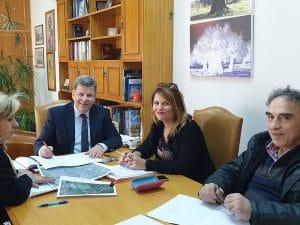 Συνάντηση αντιπεριφερειάρχη Στ. Αναστασόπουλου με την Εφορεία Αρχαιοτήτων Μεσσηνίας
