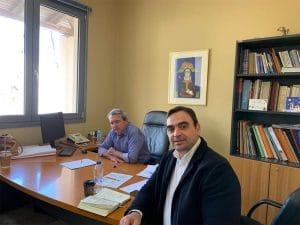 Σύσκεψη υπό τον αντιπεριφερειάρχη Λακωνίας για τα έργα της Μονεμβασιάς