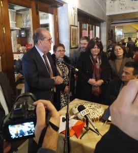 Εκδήλωση κοπής της πρωτοχρονιάτικης πίτας της Περιφερειακής Ομοσπονδίας ΑμεΑ Πελοποννήσου (ΠΟμΑμεΑ Πελοποννήσου)