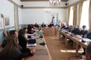 Σύσκεψη για τα έργα ΕΣΠΑ της ΤΑΠ ΤοΚ Αρκαδία 2020