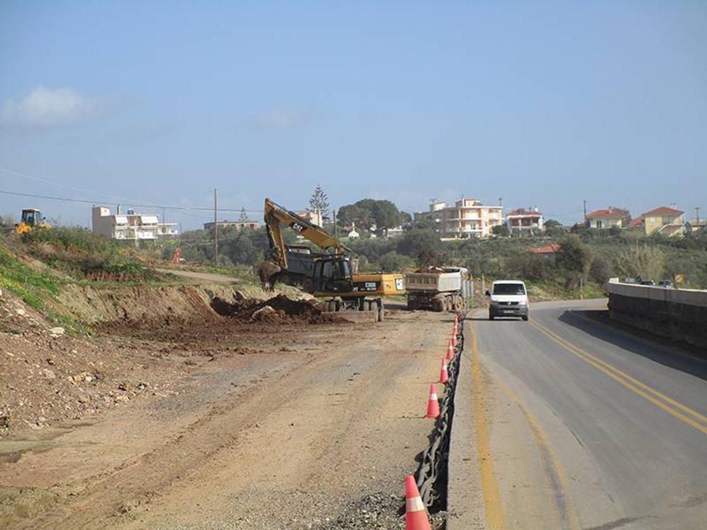 Προς επανέναρξη των εργασιών στον δρόμο Τζάνε - Καλαμάκι