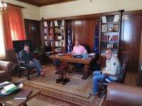 Συνάντηση Γκιολή με εκπροσώπους του ΕΚΑΒ