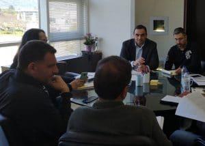 Σύσκεψη στην Π.Ε. Λακωνίας για έργα του ΠΔΕ και των ΚΑΠ
