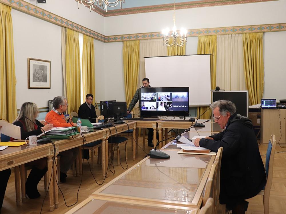 Tηλεδιάσκεψη Οικονομικής Επιτροπής