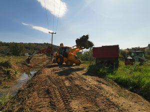 Καθαρισμός στο ρέμα Γλυκειάς, στο Ναύπλιο