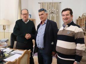 Υπογραφή συμφωνητικού για τις αποθήκες του εργοστασίου ΡΕΑ