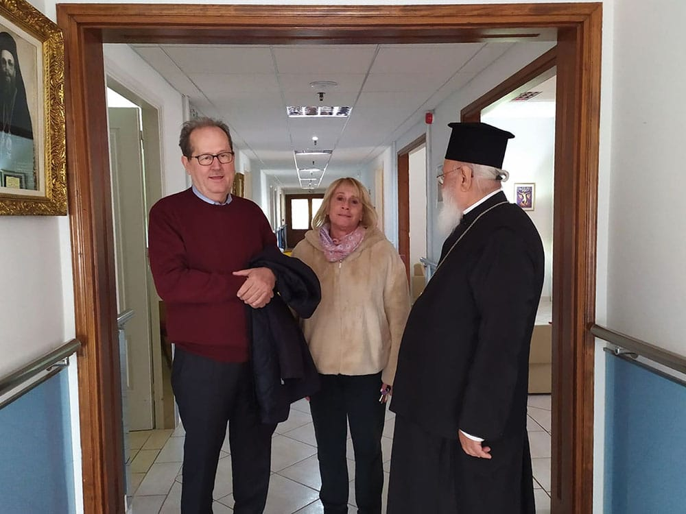 Επίσκεψη περιφερειάρχη και μητροπολίτη Αλεξάνδρου στο Γηροκομείο Τρίπολης
