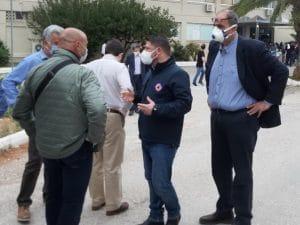 Σύσκεψη στο Κρανίδι, παρουσία Χαρδαλιά σχετικά με τα κρούσματα σε δομή φιλοξενίας