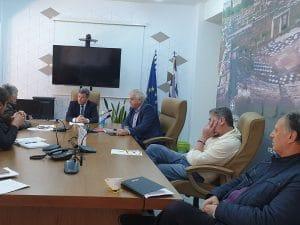 Σύσκεψη στο Διοικητήριο Καλαμάτας για την Πασχαλινή αγορά στην Π.Ε. Μεσσηνίας