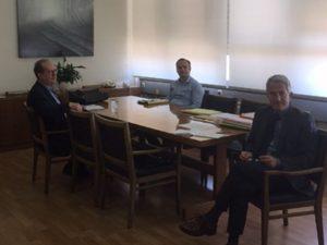 Συνάντηση για το τρένο Κόρινθος – Ναύπλιο είχε στην Αθήνα ο περιφερειάρχης με τον πρόεδρο του ΟΣΕ