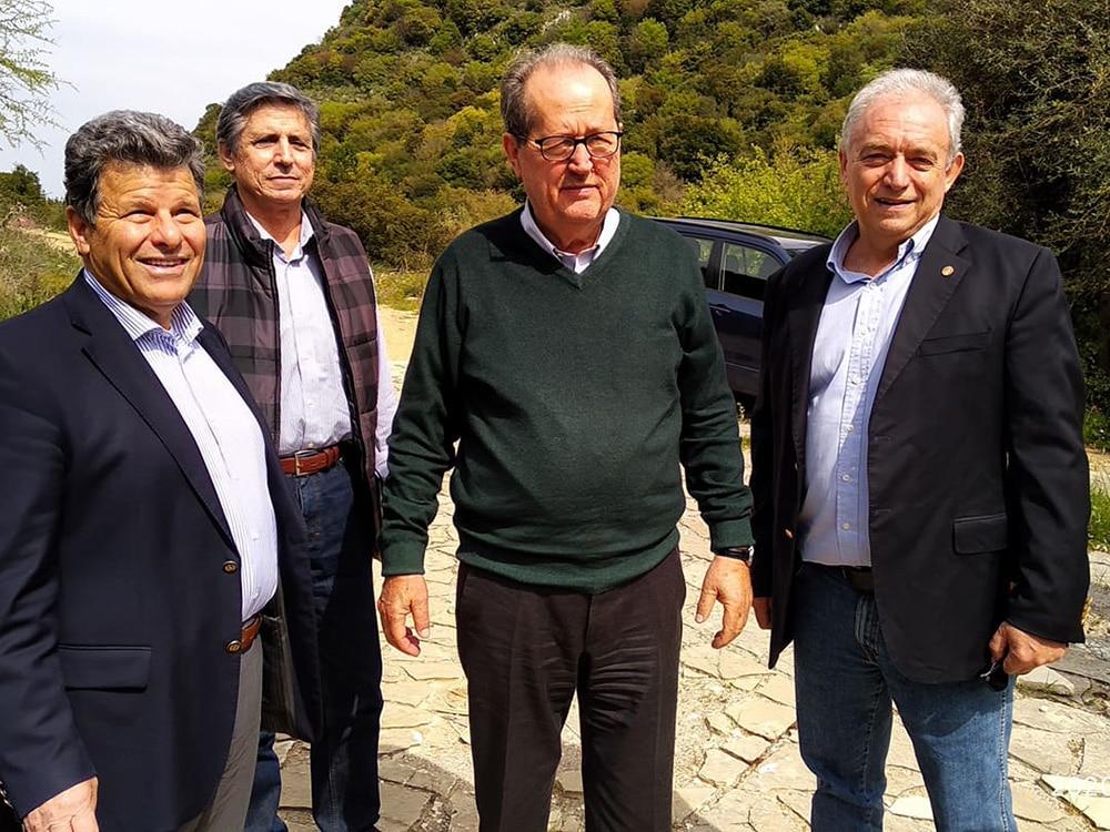 Αυτοψία του περιφερειάρχη Π. Νίκα και του προέδρου ΟΑΣΠ Ε. Λέκκα στο Πολυλίμνιο