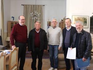 Υπογραφή σύμβασης για τη συντήρηση του δρόμου από Καστρί έως το Αστρος