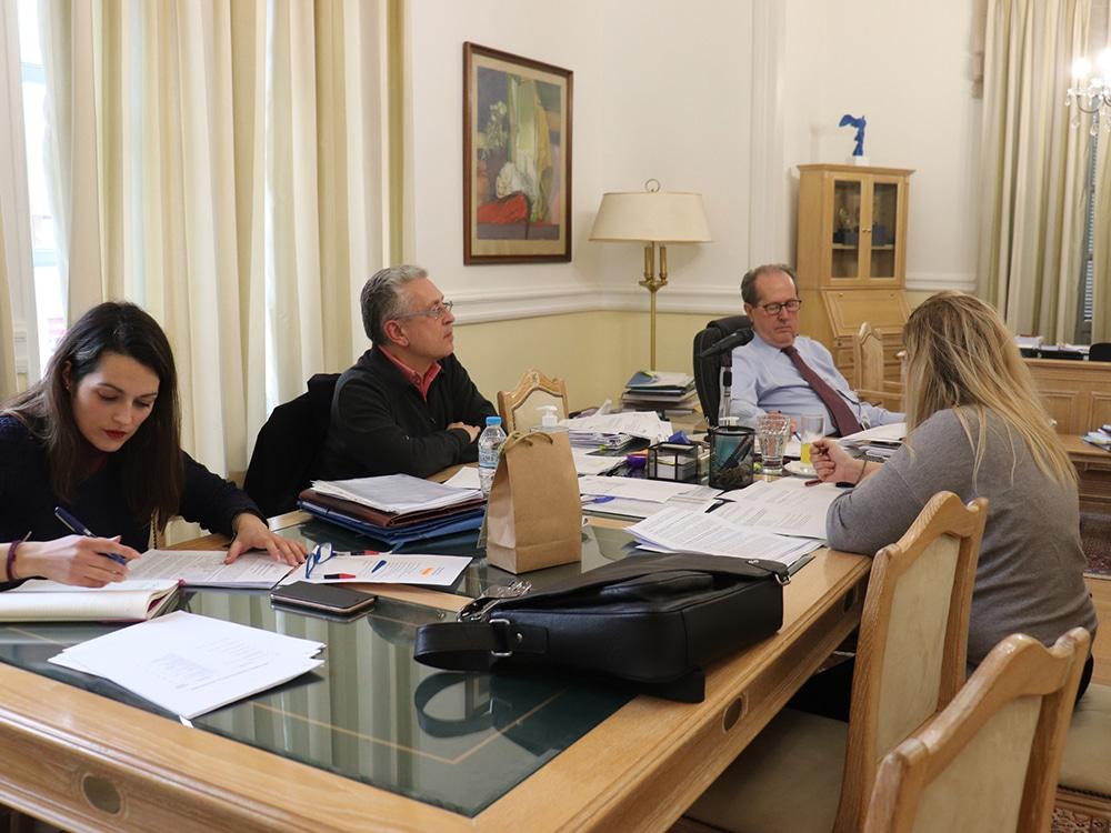 """Π. Νίκας στη σύσκεψη της Επιτροπής ΣΔΑΜ: """"Αναγκαιότητα να στηριχθεί η Μεγαλόπολη"""""""