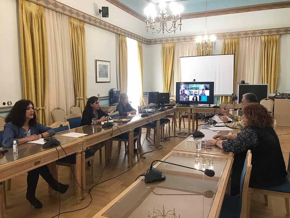 Τηλεδιάσκεψη της επιτροπής για τον εορτασμό της επετείου των 200 χρόνων από την Ελληνική Επανάσταση