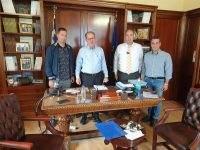 Συσκέψεις υπό τον περιφερειάρχη Π. Νίκα στην Κόρινθο για τον αναδασμό Φενεού και την ΟΧΕ Κορινθίας