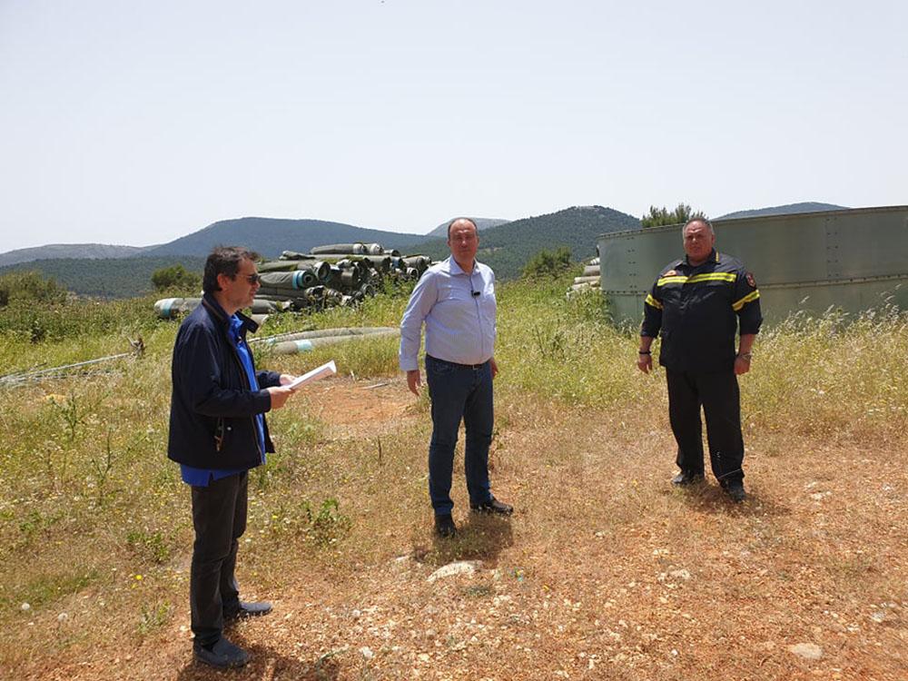 Κατασκευή υδατοδεξαμενής στο Σοφικό