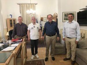 Συνδρομή της Περιφέρειας Πελοποννήσου προς τον Δήμο Τρίπολης