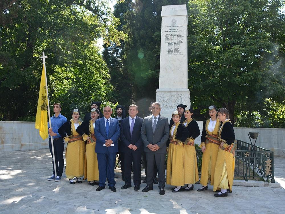 Τιμήθηκαν στην Τρίπολη τα θύματα της γενοκτονίας των Ελλήνων του Πόντου