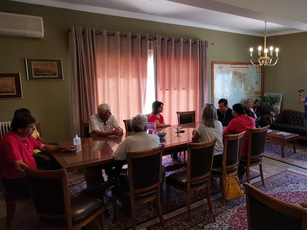 Σύσκεψη στην Π.Ε. Αργολίδας για την δακοκτονία σε Αγιο Δημήτριο και Αρκαδικό