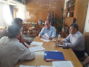 Συμβάσεις δύο εργολαβιών στην Π.Ε. Μεσσηνίας υπέγραψε ο περιφερειάρχης