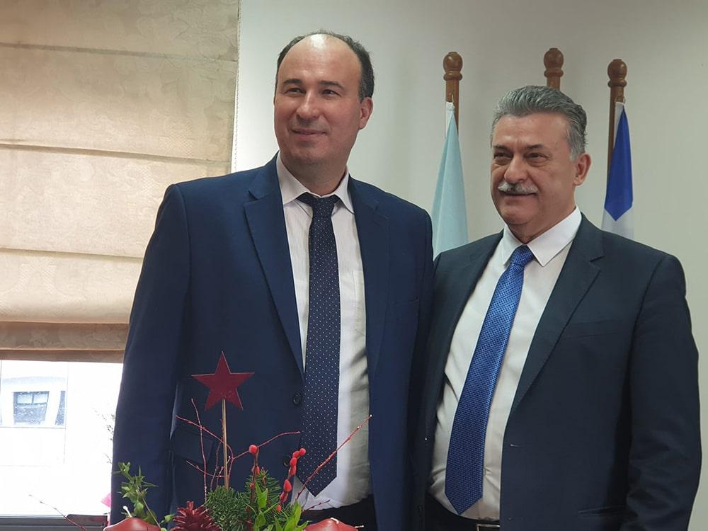 Συνάντηση Τ. Γκιολή με τον δήμαρχο Κορινθίων