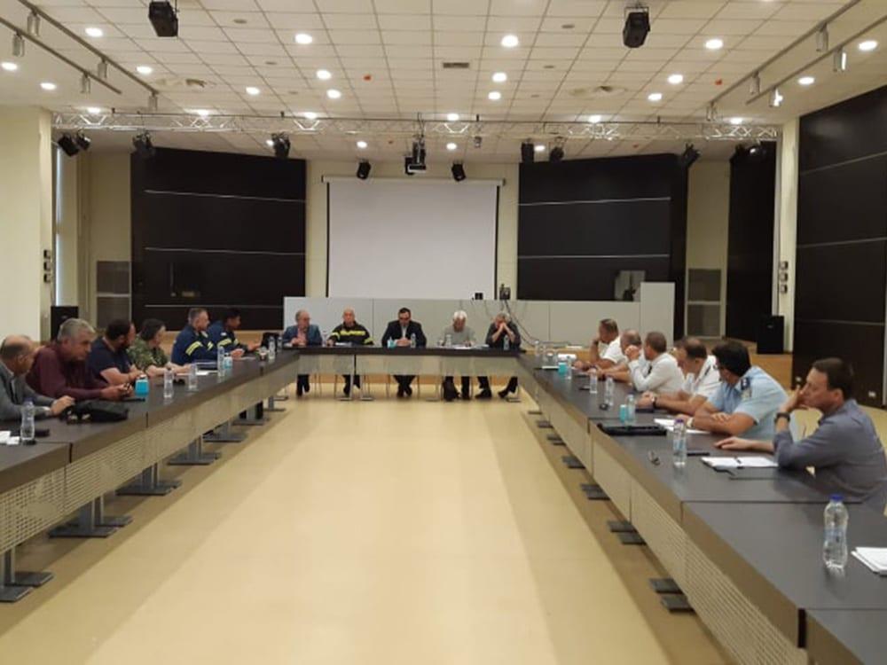 Σύσκεψη ΣΟΠΠ Λακωνίας για την αντιμετώπιση κινδύνων από την εκδήλωση δασικών πυρκαγιών