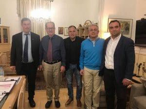 Ακαρπη η συνάντηση με τον αντιπρόεδρο του ΕΛΓΑ στην Τρίπολη για τις ζημιές από τον καύσωνα