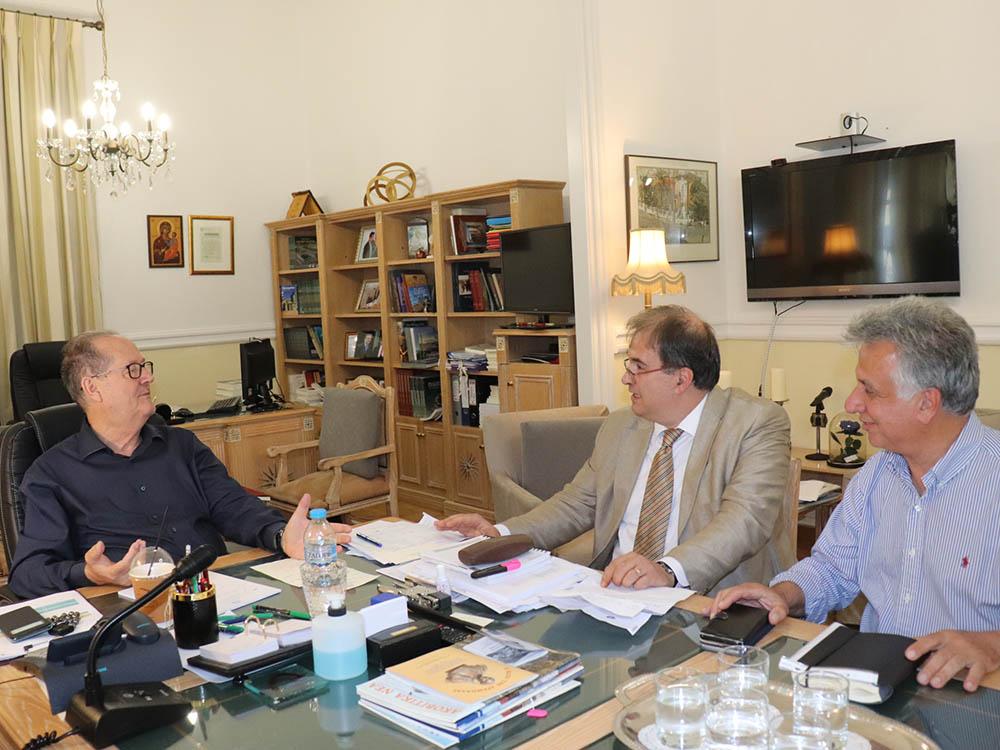 Συνάντηση του περιφερειάρχη Π. Νίκα με δημάρχους από Αργολίδα και Κορινθία