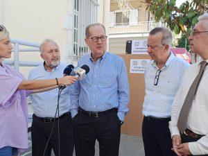 Η Περιφέρεια παρέδωσε 4 φορητά ακτινοδιαγνωστικά σε ισάριθμα νοσοκομεία