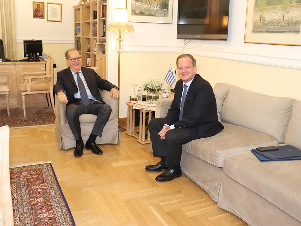Ο σχεδιασμός υποδομών της Περιφέρειας Πελοποννήσου παρουσιάστηκε στον υπουργό Κ. Καραμανλή από τον περιφερειάρχη Π. Νίκα, στην Τρίπολη