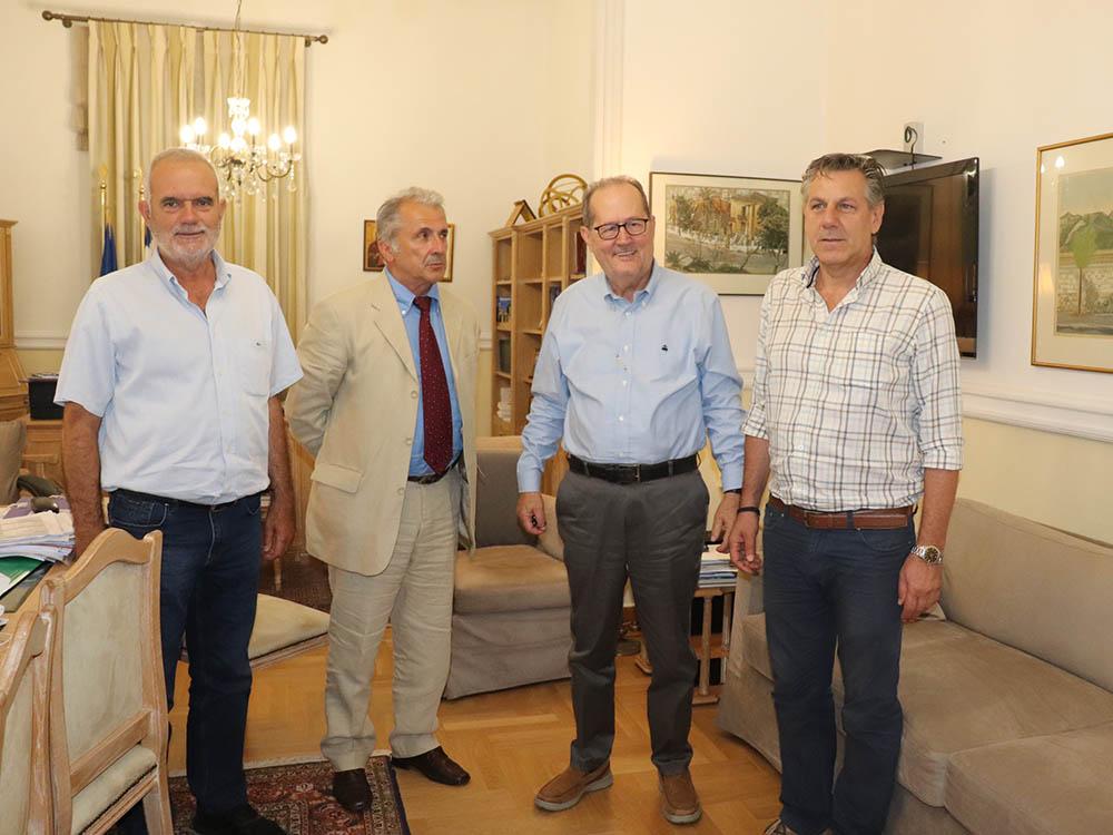 Θα συνδράμει η Περιφέρεια τον ιστορικό Μεσσηνιακό Γυμναστικό Σύλλογο στην ανακατασκευή του γηπέδου του