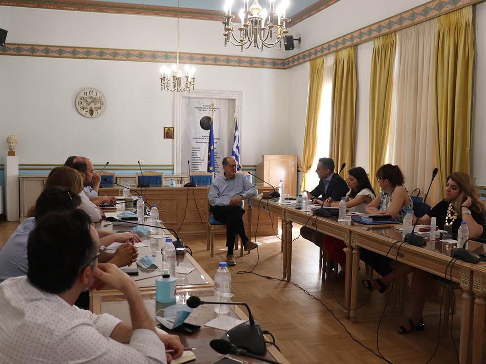 Σύσκεψη για το θέμα της διαχείρισης των απορριμμάτων