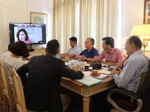 Τηλεδιάσκεψη για το θέμα της ΣΔΙΤ απορριμμάτων της Περιφέρειας Πελοποννήσου