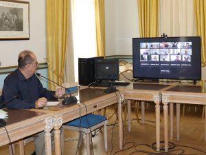 Να προσαρμοστεί η χώρα στη νέα εποχή μετά τον κορονοϊό, σημείωσε ο περιφερειάρχης Π. Νίκας στο 7ο περιφερειακό συμβούλιο τουρισμού