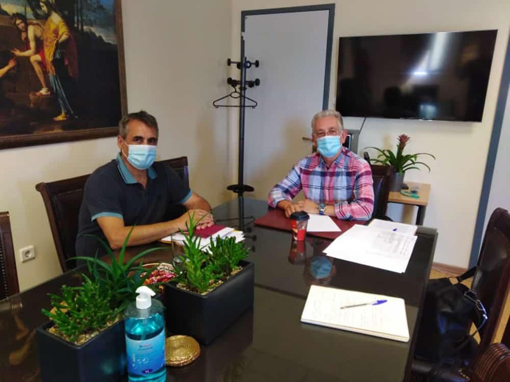 Θέματα του Δήμου Τρίπολης στη συνάντηση Λαμπρόπουλου – Τζιούμη