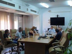 Συνάντηση για την δυσλειτουργία του δικτύου του ΓΟΕΒ Παμίσου
