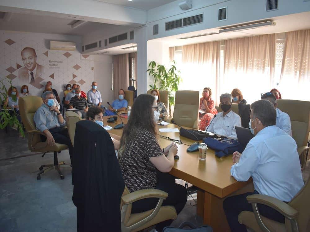 """Επιμόρφωση υπηρεσιών της Π.Ε. Μεσσηνίας για το πρόγραμμα """"Ιριδα"""""""