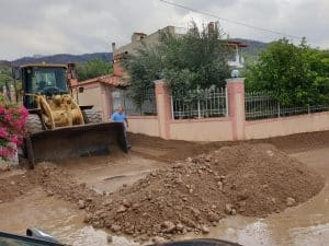 """Προβλήματα από τον """"Ιανό"""" τη νύχτα στην Κορινθία, αλλά η έγκαιρη προετοιμασία της Περιφέρειας αποσόβησε τα χειρότερα"""